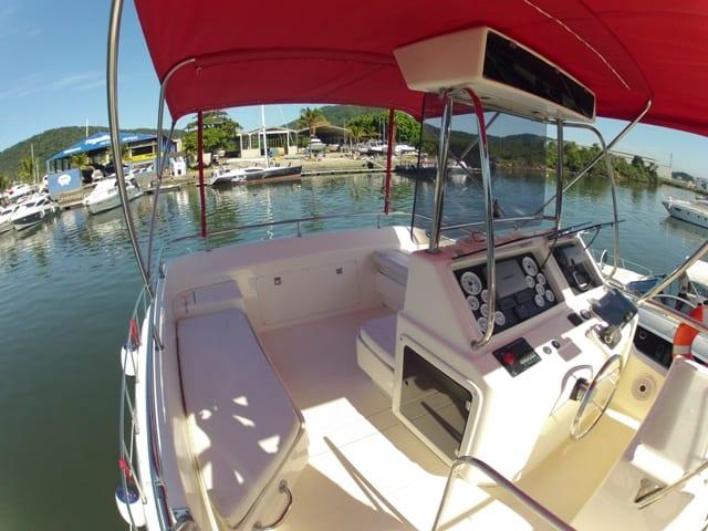 Aluguel de Barco Mares 40 - Guarujá - Pesca oceânica