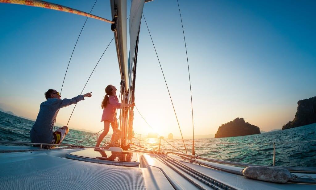 hospedar em um barco